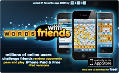 Words with Friends, Mobile App