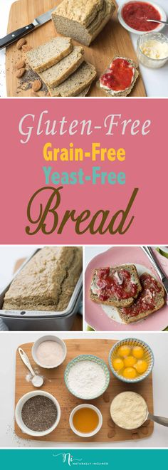 The Best Gluten and Grain Free Bread (Dairy-free)