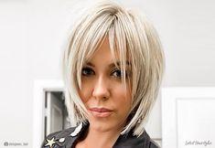 60 Most Universal Modern Shag Haircut Solutions : Straight Platinum Shag Haircut Edgy Haircuts, Haircuts For Fine Hair, Short Bob Hairstyles, Hairstyles With Bangs, Wedding Hairstyles, Short Blonde Haircuts, Messy Hairstyle, Layered Bob Haircuts, Hairstyle Men