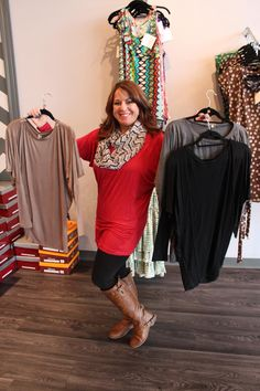 Long Dolman tops - $32 Great paired with leggings! Call 317-889-1150 or email jen@jendaisy.com to order!