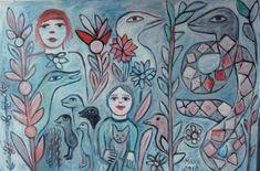 the art room plant: Mirka Mora Australian Painting, Australian Art, Classical Mythology, Prisoners Of War, Commercial Art, Outsider Art, Art Studios, Impressionist, Art Lessons