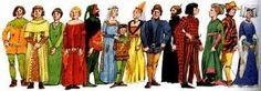 Resultado de imagem para idade media gotica vestimentas