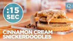 Quest Cinnamon Cream Snickerdoodles #15SecondRecipe WATCH: Quest Cinnamon Cream Snickerdoodles #15SecondRecipe. #CheatClean