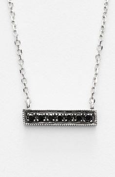 Dana Rebecca Designs 'Sylvie Rose' Diamond Bar Pendant Necklace | Nordstrom