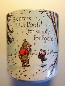 Winnie the Pooh and Piglet coffee mug