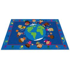 Found it at Wayfair - World Character Classroom Kids Area Rug
