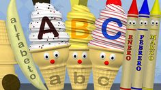 Learn the alphabet, numbers, shapes, colors and months of the year in Spanish. Children will learn Spanish with lessons featuring ice cream cones, crayons, p...