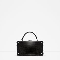 ZARA - WOMAN - STUDDED BOX BAG