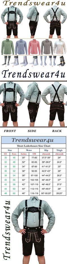 Lederhosen 163144: German Bavarian Oktoberfest Trachten Short Lederhosen Shirt Socks Package Set Q3 -> BUY IT NOW ONLY: $88.95 on eBay!
