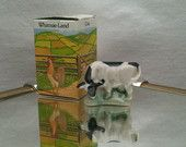 Wade Whimsie: Whimsie-Land Cow Figurine 1985