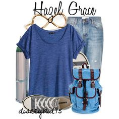 """Hazel Grace"" by disneykid95 on Polyvore"