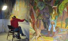 fresco painting art - Google Search Learn To Paint, Art Google, Fresco, Contemporary, Painting Art, Artists, Inspiration, Image, Google Search
