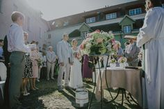 Wedding ceremony in Tallinn Old Town. Photo by Marit Karp