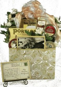 Wedded Bliss, Wedding Gift Basket for only $85.00