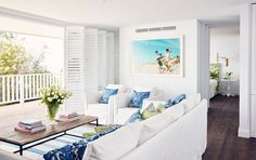 """Australian photographers and artists who have an emotional connection to the water are featured throughout both penthouses such as [Murray Hilton](http://www.murrayhilton.com/