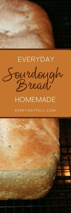 SOURDOUGH SANDWICH BREAD RECIPE - If you're looking for an everyday sourdough sandwich bread recipe, you've finally found it! Great for toast, sandwiches, french toast and so much more!