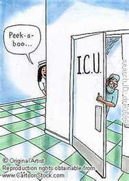 haha wow so corny it's funny! What's funnier is every ICU nurse I've known is exactly like this :)