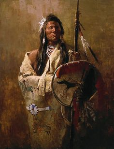 BY HOWARD TERPNING.........PAINTER OF THE PLAIN'S NATIVE AMERICAN........SOURCE CATHERINELAROSE.BLOGSPOT.COM.....