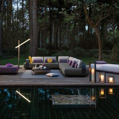 Manutti Outdoor Furniture ''KUMO'' collection | Designed by Lionel Doyen Manutti Outdoor Furniture ''KUMO'' collection | Tasarım Lionel Doyen