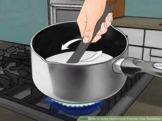 How to Make Homemade Polymer Clay Substitute. Are you tired of running to the craft store for expensive polymer clay? This wikiHow will show you how to make your own polymer clay substitute. Keep in mind, however, that these homemade clays.