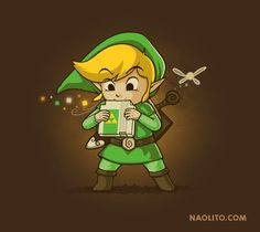 Legend of Zelda Designs - Created by Nacho Diaz Arjona