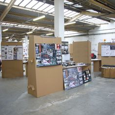 Cardboard Exhibition Display Stands