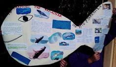 Με αφορμή το μάθημα του Ανθολογίου της Γ΄ τάξης «Το τραγούδι της φάλαινας», της Νταϊάν Σέλντον, οι μαθητές συγκέντρωσαν πληροφορίες για τα ζώα υπό εξαφάνιση. Ασχολήθηκαν με τους κινδύνους που αντιμετωπίζουν  και τη ραγδαία μείωση του πληθυσμού τους, καθώς ο σύγχρονος άνθρωπος δίνει σημασία μόνο στο υλικό κέρδος…    Είδε τότε εκεί κοντά,    με καμάκια μυτερά