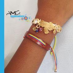 ¡Pulseras espectaculares con los colores de nuestra bella #Venezuela! ❤️ #AMC #AnnaMariaCavallo #accesorios #woman #orfebrería #design #style #fashion #moda #beauty #love #DiseñoNacional #loveit