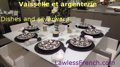 When it's your turn to set the table, you definitely need to know the difference between une assiette and une serviette. Check out this lesson to learn the French names for a variety of dishes, silverware, and pots and pans.  https://www.lawlessfrench.com/vocabulary/dishes-and-silverware/