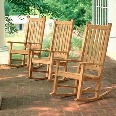 Teak Outdoor Rocking Chairs - Home Furniture Design Rocking Chair Plans, Wooden Rocking Chairs, Outdoor Rocking Chairs, Wooden Chairs, Supreme Furniture, New Furniture, Mission Furniture, Craftsman Furniture, Living Furniture