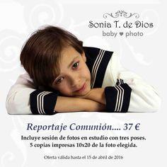 Oferta Reportaje Comunión Córdoba