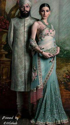 Pinterest @Littlehub     Sabyasachi~❤。An Exquisite Clothing World