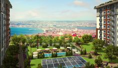Family Resale 2 Bedroom Istanbul Beykent Apartments
