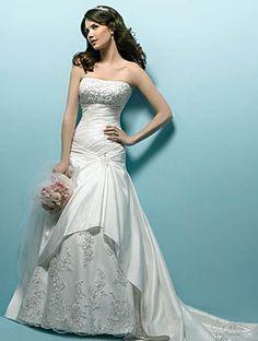 beautiful long wedding dresses