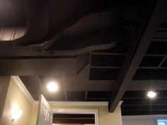 Inexpensive And Neat Alternative To Drop Ceilings In Basement Its