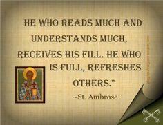 St. Ambrose.