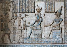 'Nero, Isis and Osiris in Dendera.'