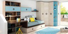 Dormitorio juvenil (1066 – J12) - Muebles CASANOVA