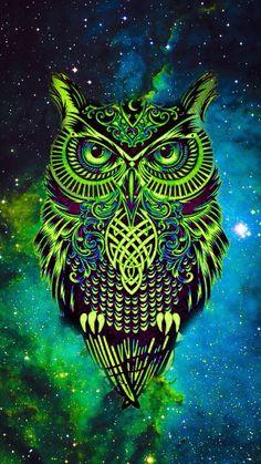 Owl Screensaver : screensaver, IPhone, Wallpapers, Ideas, Wallpaper,, Geometric