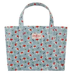 Puppies!  This spacious cotton shopper will hold everything you need and more.