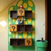 Jaiden would love this Super Mario Themed Room from Nintendo