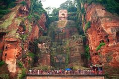 Giant Buddha, Leshan, China - Too Beautiful To Be Real? 16 Surreal Landscapes Found On Earth