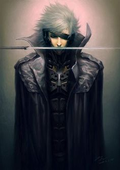 See more 'Metal Gear Rising: Revengeance' images on Know Your Meme! Cyberpunk, Raiden Metal Gear, Metal Gear Solid Series, Cry Anime, Anime Art, Character Art, Character Design, Metal Gear Rising, Kojima Productions