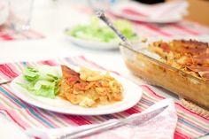 Hämmentäjä: Asian chicken lasagne. Aasialainen kanalasagne