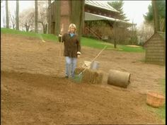 Prepare Soil for Grass Seed Videos | Home & Garden How to's and ideas | Martha Stewart