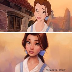 Thanks to illustrator, Isabelle Staub, these Disney Princesses have gotten a realistic makeover that is both inspiring and beautiful! One reason that Isabelle