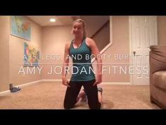Abs, legs, and booty burner - YouTube
