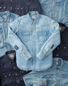 95de4dc0ee The 1955 Sawtooth Denim Shirt. A stone cold classic.