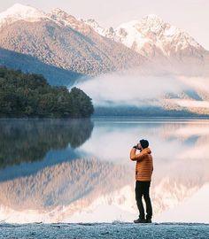 Sunrise at Lake Gunn #newzealand  Photo: @jasoncharleshill  #wildernessculture by wilderness_culture