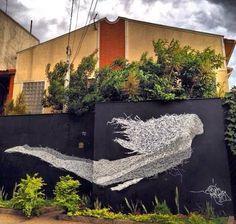 #STREETART Sliks New Mural  Sao Paulo, Brazil ~.xx.